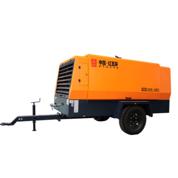 New HG700-18C high pressure diesel air compressor