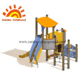 Simple Tube Outdoor Playground Equipment For Children