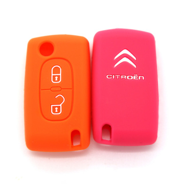 Customized cheapest silicone car key protective cove