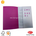 A4 document presentation folder with one pocket