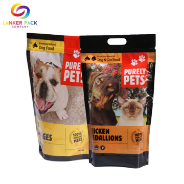 FAD Approved Waterproof Pet Food Plastic Ziplock Pouch