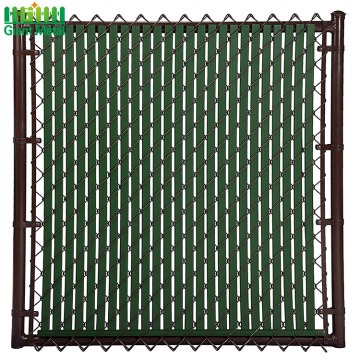 heavy duty chain link fence top barbed wire