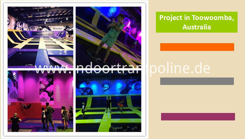 Projects of wall trampoline park