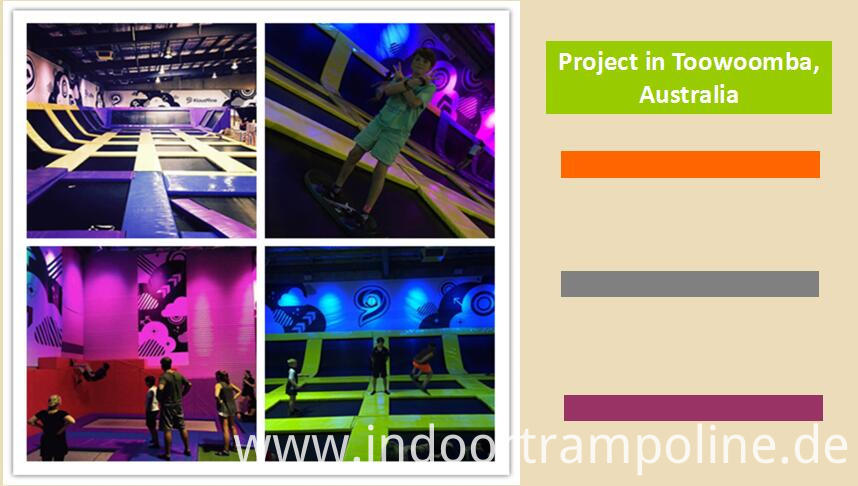Projects of professional Trampoline for Sale