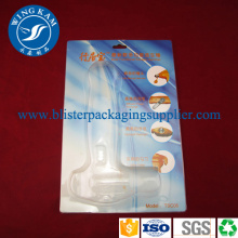 Sliding Card Blister Packaging PET PVC