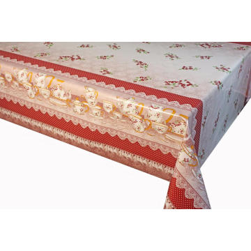 Elegant Tablecloth with Non woven backing Seater