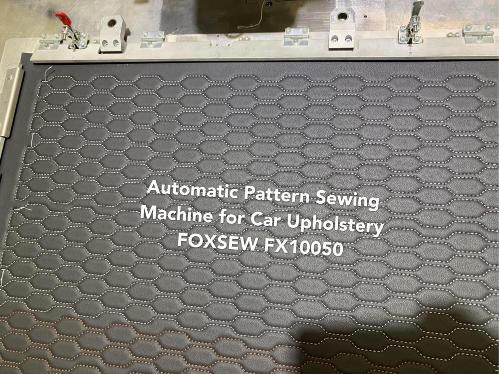 Programmable Automatic Pattern Sewing Machine Foxsew Fx10050 5