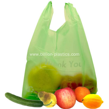 Smile Plastic Reusable Shopping Bags with Handles