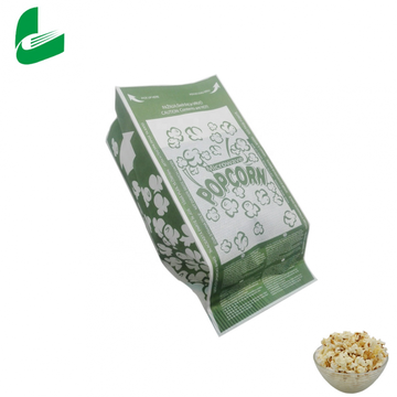 Food gradeable Gravure printing Custom Design Logo Printed Heat Seal Clear Microwave Popcorn Bag