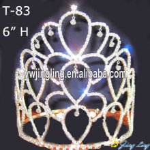 Glitz rhinestone pageant crowns for sale