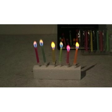 Birthday Party Decoration Stick Color Flame Candles