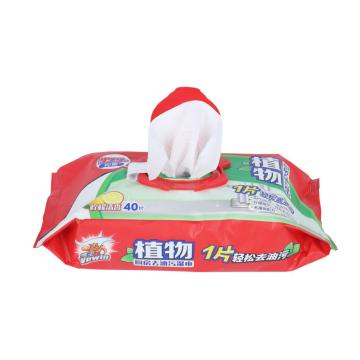 OEM Nonwoven Household Clean Kitchen Furniture Wet Wipe