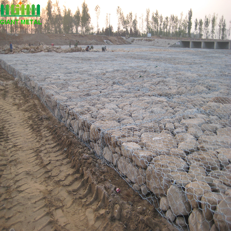 Low price hot sale galvanized gabion box