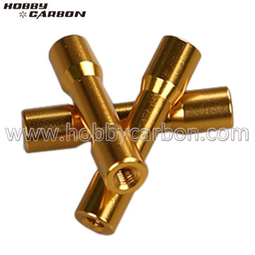 M3 Golden Round-step Aluminum Standoffs