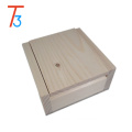 small jewelry pure color handcrafted wooden packing box gift