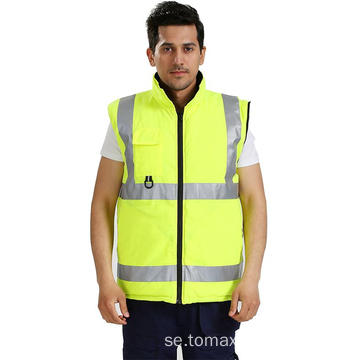 Hi Vis Reflekterande Industrial Working Wear Jacket