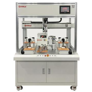 Double Head Single Y Automatic Nut Tightening Machine