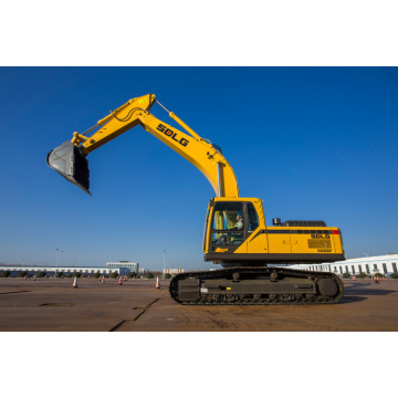 Municipal construction landscaping hydraulic type excavator