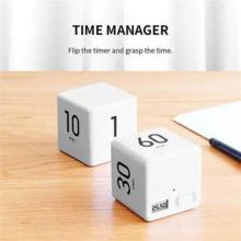 1PC Cubic Timer Digital Kitchen Timer For Cooking Shower Study Stopwatch Alarm Clock Magnetic Electronic Cooking Countdown Timer