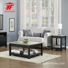 Coffee Table with End Side  Tables Set