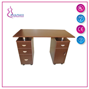 Wood Top Manicure Table Nail Table