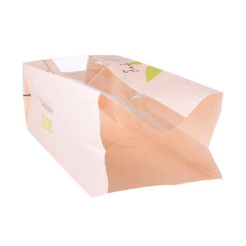 Small Flat Paper Bread Packaging Bag Wholesale