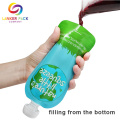 Custom Moisture Proof Pouch For Liquid With Spout