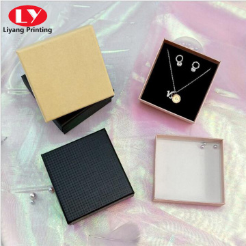 Custom square jewelry bracelet packaging paper box