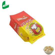 Kraft greaseproof paper microwave popcorn paper bag