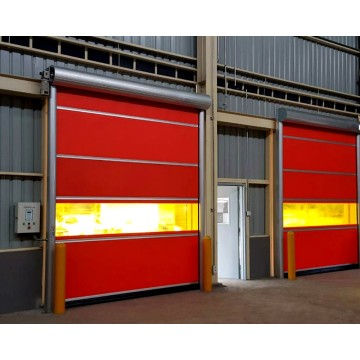 Perde PVC Automatike Rolling Up Door
