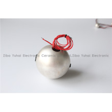 Piezo Hemisphere for Underwater Transmitting Transducer