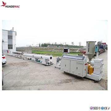 Automatic fully 75-200mm HDPE pipe extrusion machine price