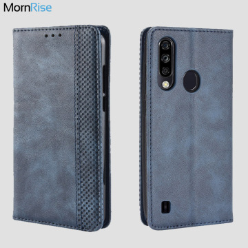 For ZTE Blade A7 2020 Case Book Wallet Vintage Slim Magnetic Leather Flip Cover Card Stand Soft Cover Luxury Mobile Phone Bags