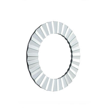 three-dimensional round shape hanging mirror