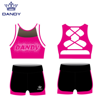Custom Sublimation Cheer Dance Practice Uniforms