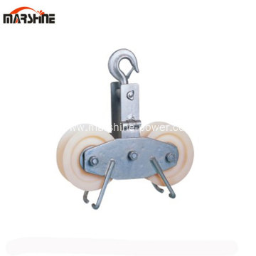 Tandem Sheave Stringing Pulley Block