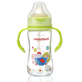 Infant Milk Bottle Feeding Glass Bottle With Handle