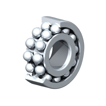 Double Row Deep Groove Ball Bearings R Series