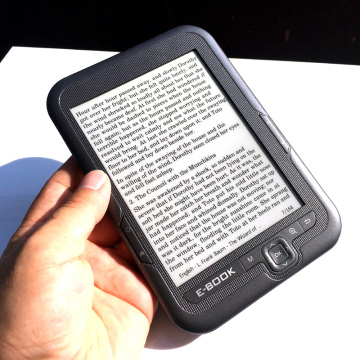 16GB e-inK electronic ink screen 6 inch digital ebook reader Built-in 16GB Memory and Support SD card Extended Protect the eyes