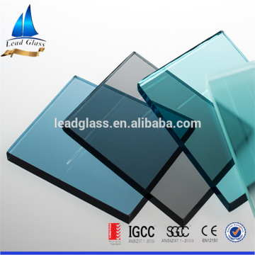 Blue Tinted Tempered Jalousie Glass For Windows