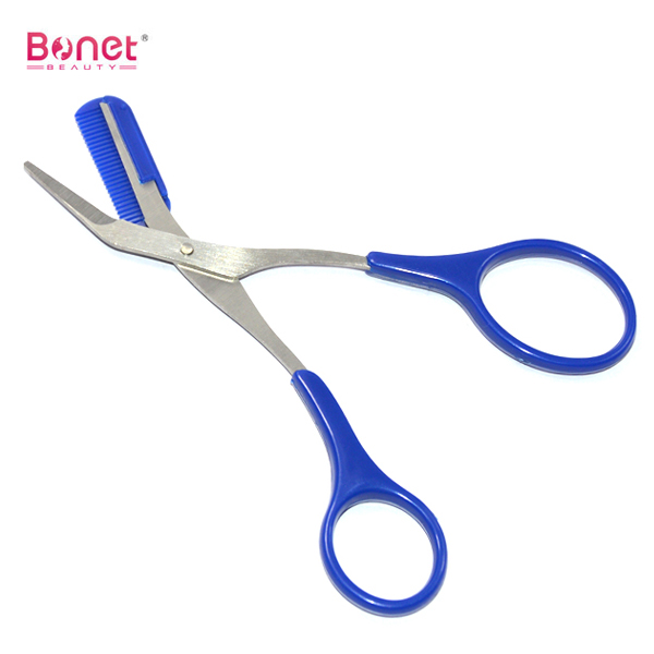 Plastic Handle Manicure Scissors