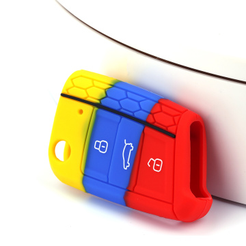 VW Silicone Car Key Fob Bag
