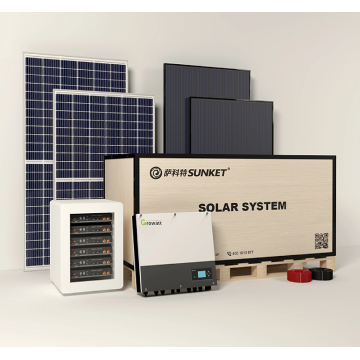 5KW On Grid Solar Power System Home