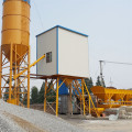 Fully automatic commercial 25m3h concrete mixing plant