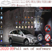 Newest 2020.12 MB STAR C4 C5 C6 VCI DOIP Full Software XENTRYSCN/DASEPC/WIS/Starfinder/EWA/VEDIAMO/DTS-Monaco HDD/SSD