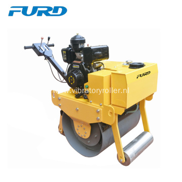 500kg Single Drum Small Hand Roller Compactor