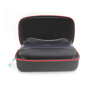 2017 Guangdong protective hard eva headset case with zipper
