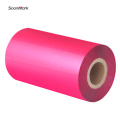 Custom size color thermal transfer barcode ribbon roll