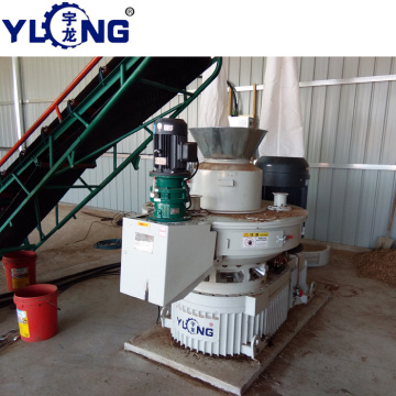 biomass pellet mill flow diagram