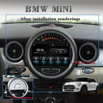 Android samochodowy GPS stereo dla MINI COOPER